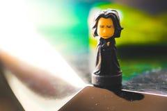 Figura de acción de la saga de Harry Potter profesor Severus Snape Foto de archivo