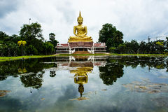 Figura de assento de Buddha Imagem de Stock