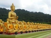 Figura de assento de Buddha Imagem de Stock Royalty Free