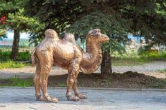 Figura de bronce de un camello Fotografía de archivo