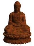 Figura de Buddha que se sienta Foto de archivo libre de regalías