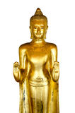 Figura de Buddha que se sienta Fotos de archivo