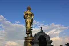 Figura de Buddha que se sienta Fotografía de archivo libre de regalías