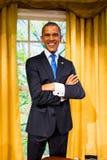 Figura de cera de Barack Obama na senhora Tussauds San Francisco Fotografia de Stock