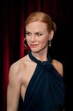 Figura de cera de Nicole Kidman Imagen de archivo libre de regalías