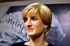Figura de cera de princesa Diana Fotografía de archivo