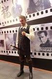 Figura de cera de Robert De Niro imágenes de archivo libres de regalías