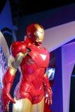 Figura de cera del hombre del hierro Imagen de archivo