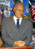 Figura de cera de presidente Franklin Delano Roosevelt fotos de archivo libres de regalías