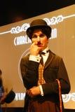 Figura de cera de Sir Charles Spencer Charlie Chaplin foto de archivo libre de regalías