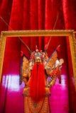 Figura de cera de la ópera de Pekín Fotos de archivo