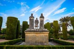 Figura de Columbus de Córdoba Foto de archivo libre de regalías