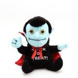 Figura de Dracula del truco o del convite Foto de archivo