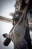 Figura de Jesús en la cruz Fotografía de archivo