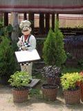 Figura de la decoración de la escena del café del cocinero Foto de archivo libre de regalías