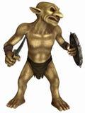 Figura de la fantasía - Goblin Imagenes de archivo