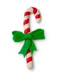 Figura de la plastilina del caramelo de la Navidad Fotos de archivo libres de regalías