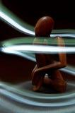Figura de madeira Imagem de Stock Royalty Free