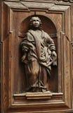 Figura de madeira do vintage Imagem de Stock
