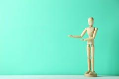 Figura de madera Imágenes de archivo libres de regalías