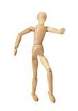 Figura de madera maniquí imagen de archivo libre de regalías