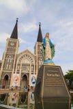 Figura de Maria que se coloca en la catedral de la Inmaculada Concepción Imágenes de archivo libres de regalías