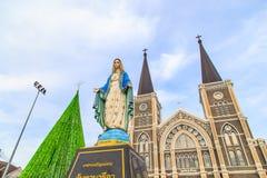 Figura de Maria que se coloca en la catedral de la Inmaculada Concepción Fotografía de archivo