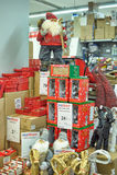Figura de Papai Noel Fotografia de Stock