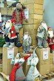 Figura de Papai Noel Imagens de Stock Royalty Free