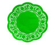 Figura de papel guardanapo - verde Imagem de Stock Royalty Free