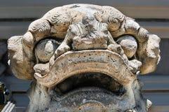 Figura de piedra en Wat Phra Kaew en Tailandia Fotografía de archivo