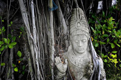 Figura de piedra Tailandia Foto de archivo