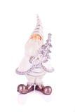 Figura de Santa en blanco Fotografía de archivo