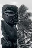 Figura de um homem de Islands do cozinheiro no cozinheiro Islands de Rarotonga. Fotografia de Stock Royalty Free