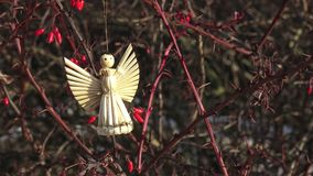 Figura de un ángel que adorna metrajes