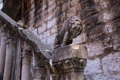Figura de un león Imágenes de archivo libres de regalías