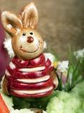 Figura del coniglietto di pasqua Fotografia Stock
