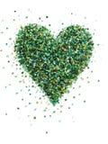 Figura del cuore Fotografia Stock Libera da Diritti