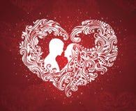 Figura del cuore. royalty illustrazione gratis