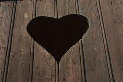 Figura del cuore Fotografie Stock Libere da Diritti