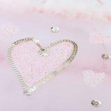 Figura del cuore Fotografie Stock