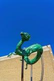 Figura del drago in Chinatown di PA di Filadelfia Fotografia Stock