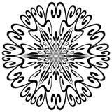 Figura del fiocco di neve Immagini Stock Libere da Diritti