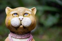 Figura del gato Imágenes de archivo libres de regalías