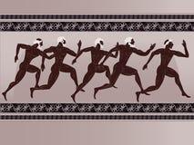 Figura del greco antico Immagini Stock