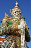 Figura del guardiano di Yaksha fotografia stock