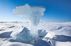 Figura del hielo Imágenes de archivo libres de regalías