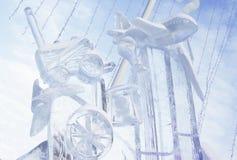 Figura del hielo Fotografía de archivo libre de regalías