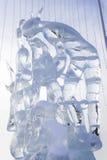 Figura del hielo Fotografía de archivo