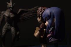 Figura del hombre y de la mujer del juguete Imágenes de archivo libres de regalías